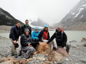 We made it to Laguna Torre!!!